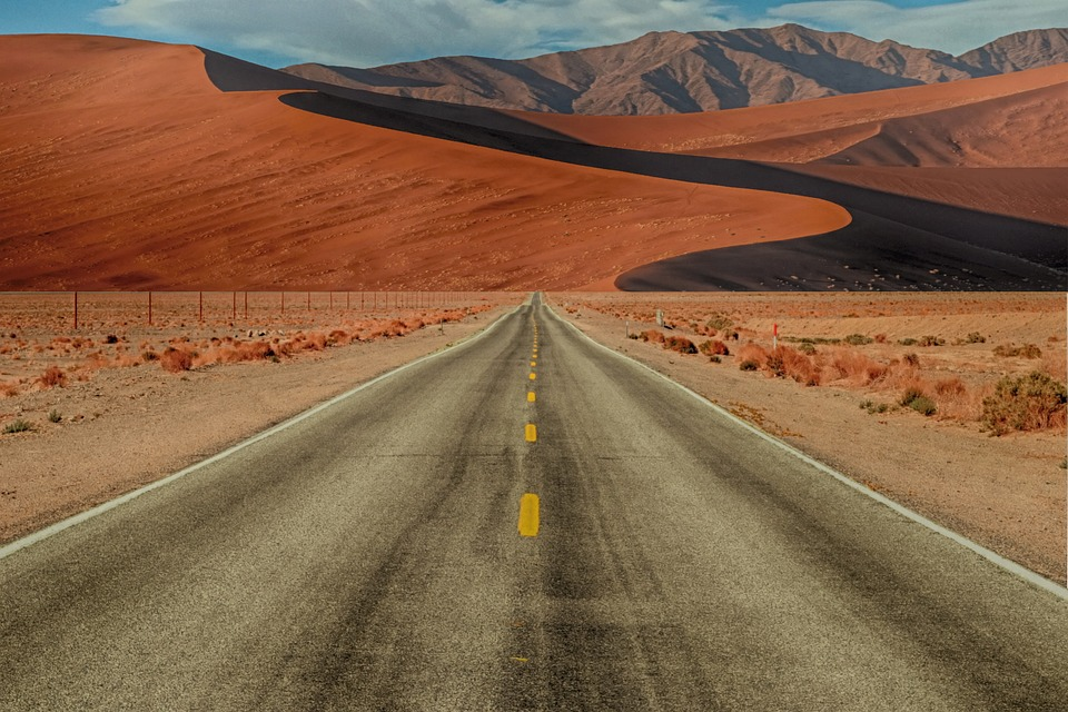 The road is the travel.