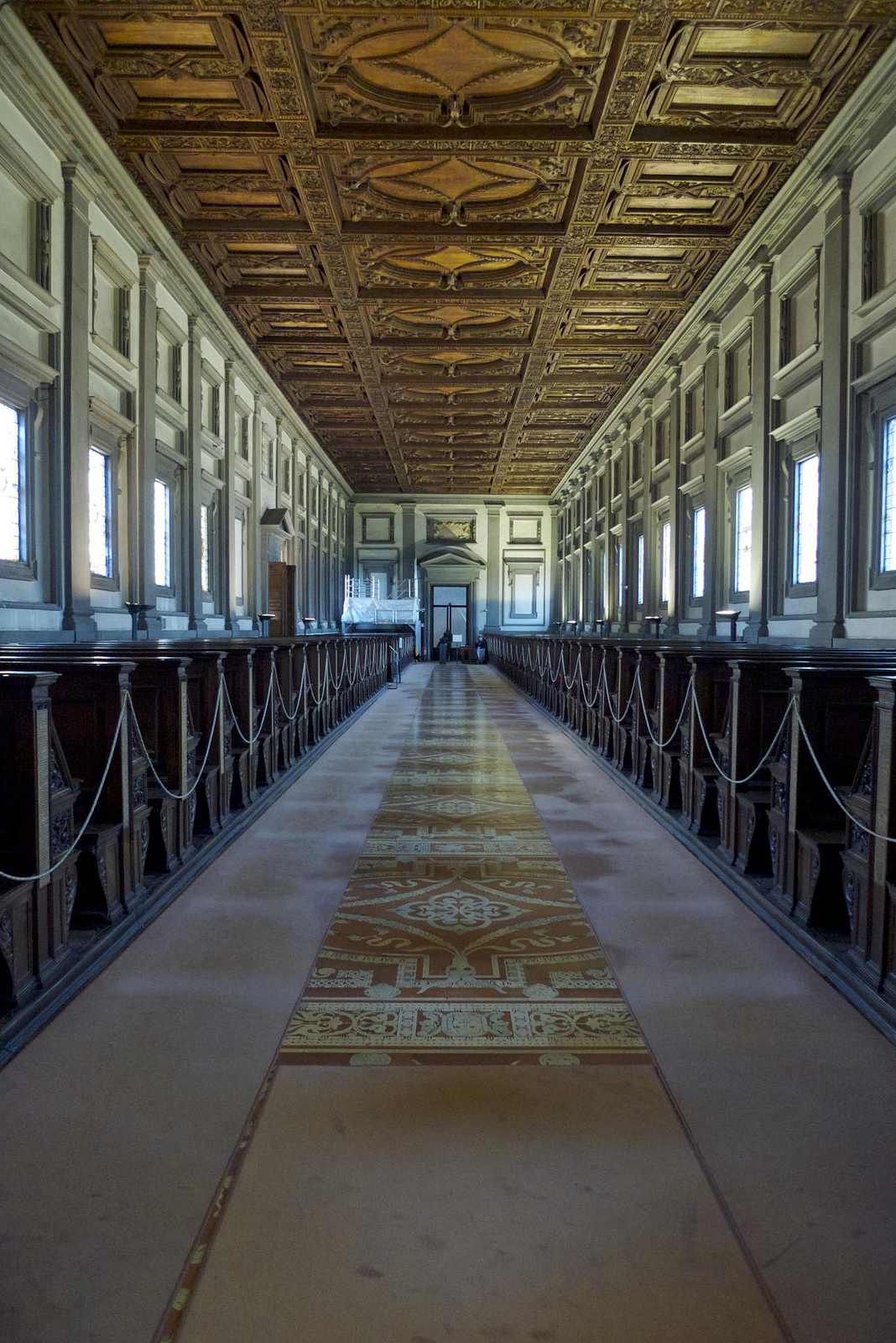 The Laurentian Library.