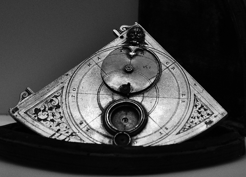 Galileo's artifact in the Galileo museum.