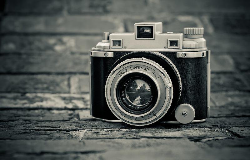 A Kodak camera.