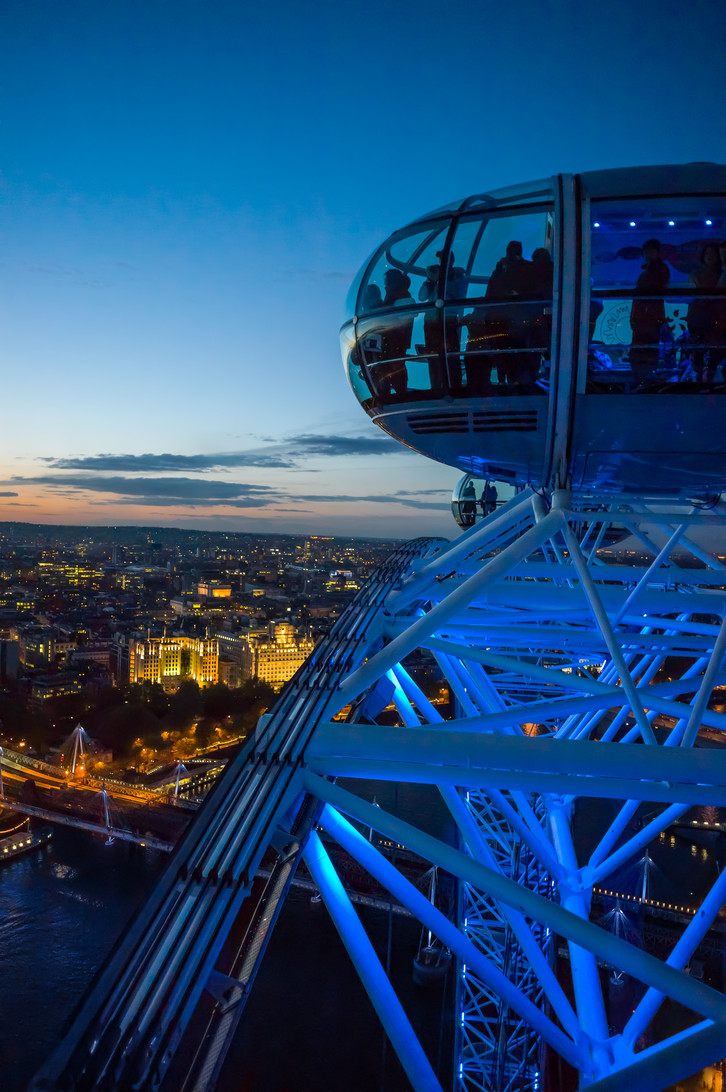 The city from the London eye.