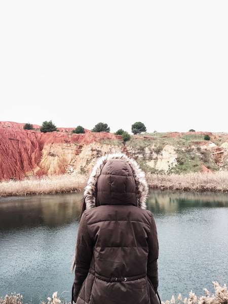 Cava di bauxite (bauxite mine), Otranto. Photo by Marko Morciano