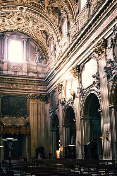 Santa Maria in Vallicella, Rome. Photo by Marko Morciano