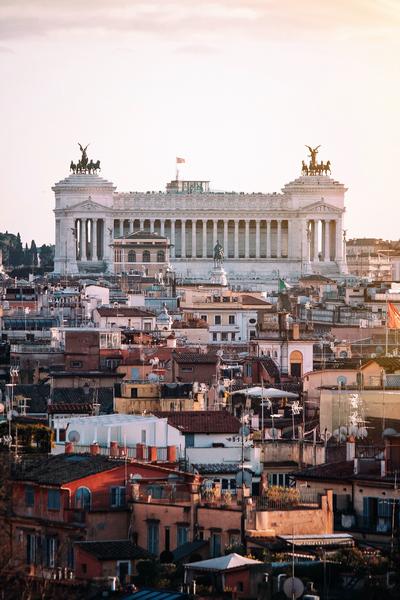 Altare della Patria, Rome. Photo by Marko Morciano