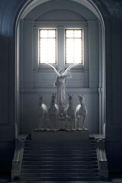 Altare della Patria, inseide view. Rome. Photo by Marko Morciano