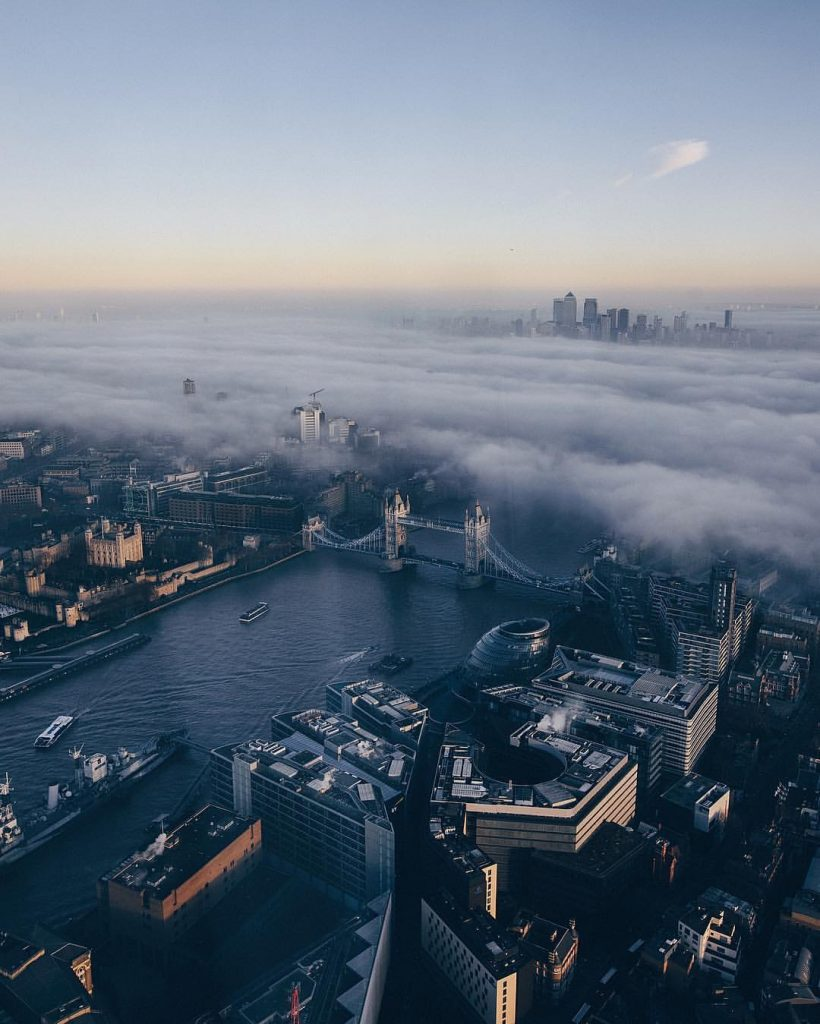London, cityscape view. Photo by Ope Odueyungbo