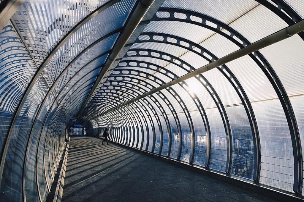 Poplar dlr station, London. Photo by Ope Odueyungbo