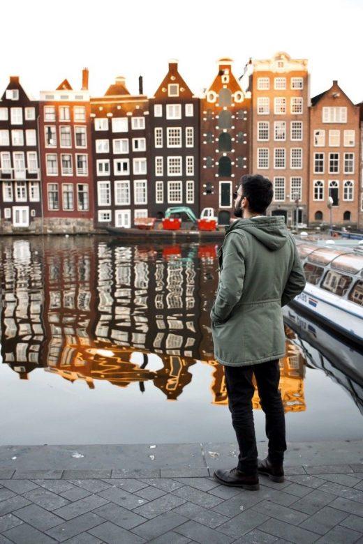 Marko Morciano in Amsterdam.