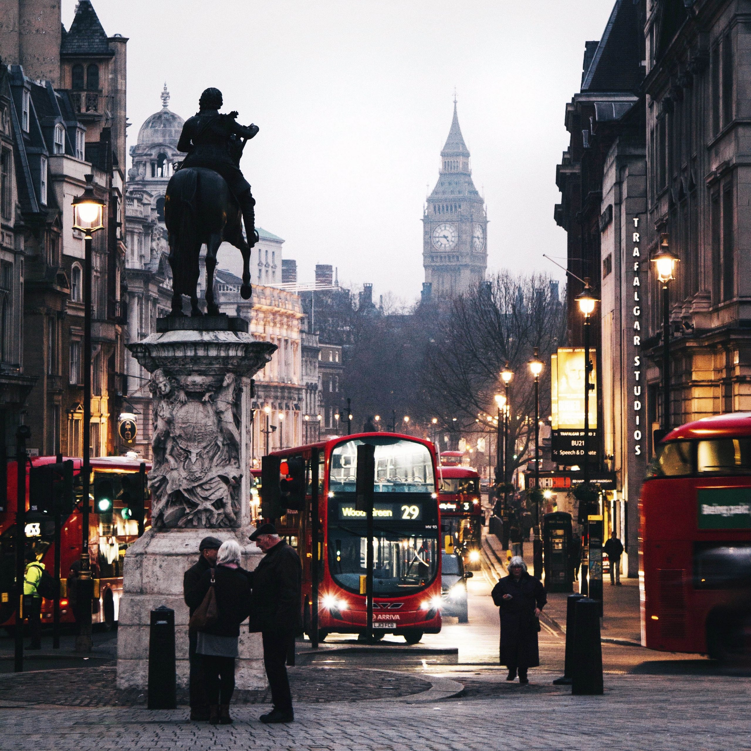 A London corner. photo by Ross Mowbray