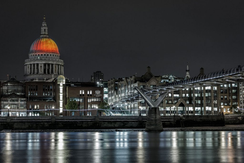 St. Paul in London. Photo by Antoine Buchet